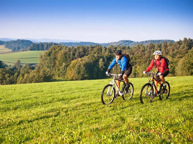 Mountainbiken im Muehlviertel